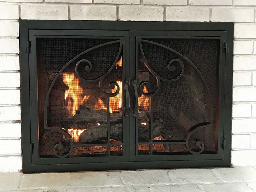 Fireplace Door FD010