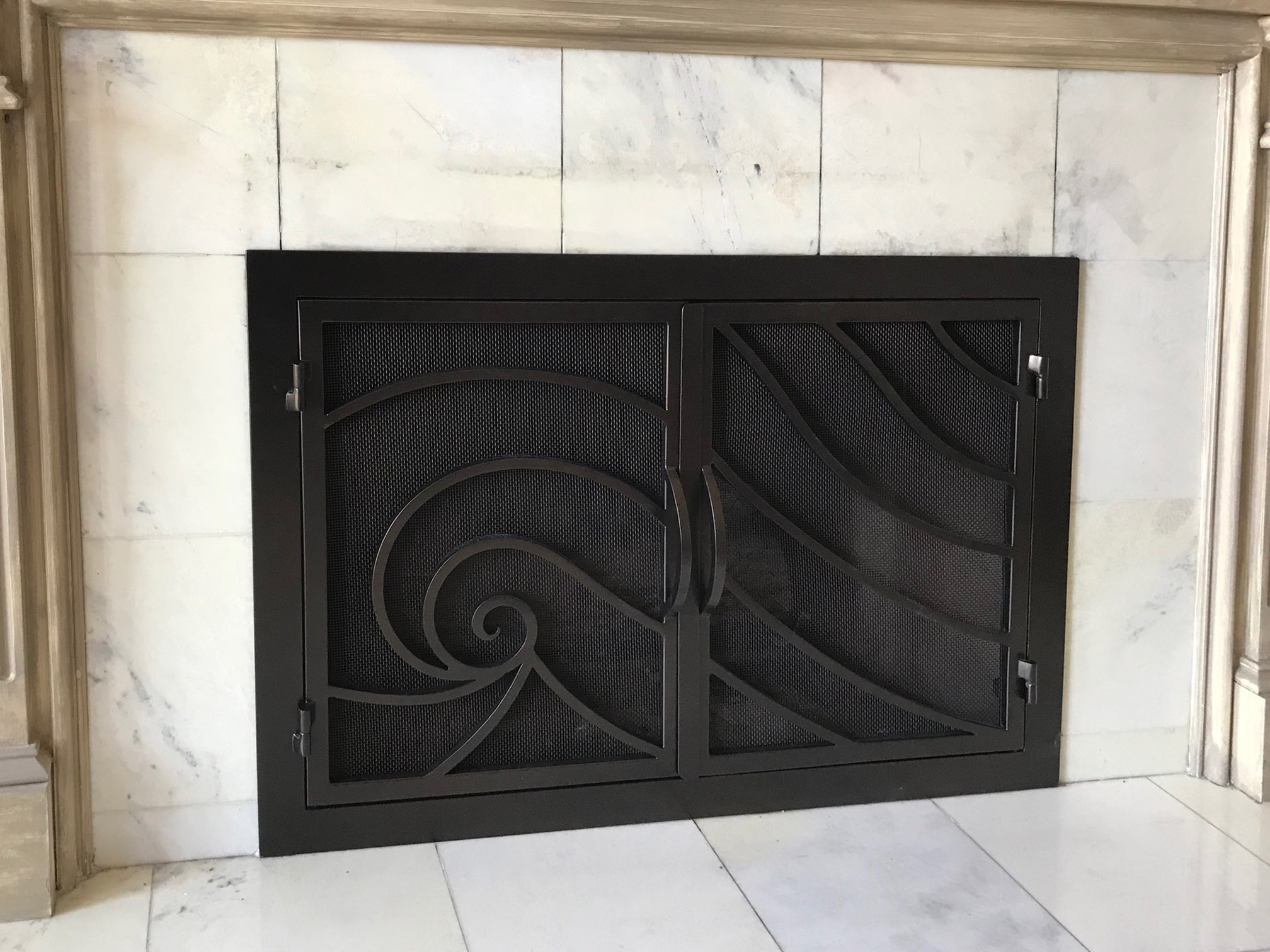 Fireplace Door FD016