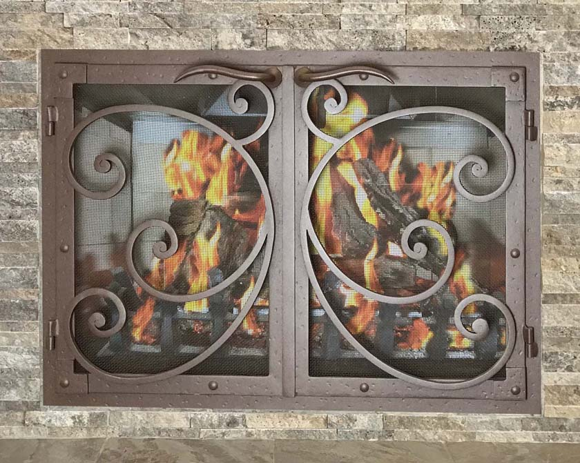 Fireplace Door FD018