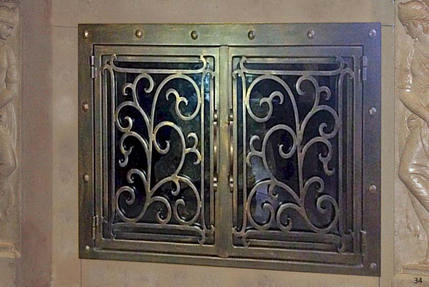 Fireplace Door FD034