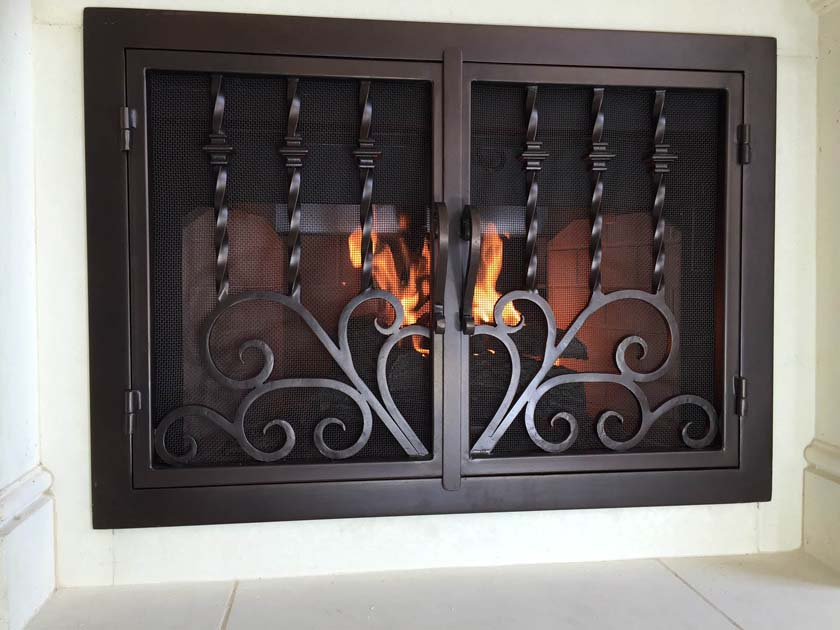 Fireplace Door FD044
