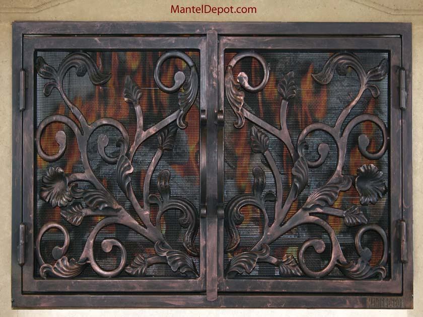 Fireplace Door FD045