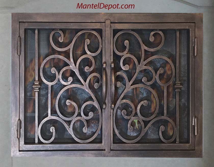 Fireplace Door FD058