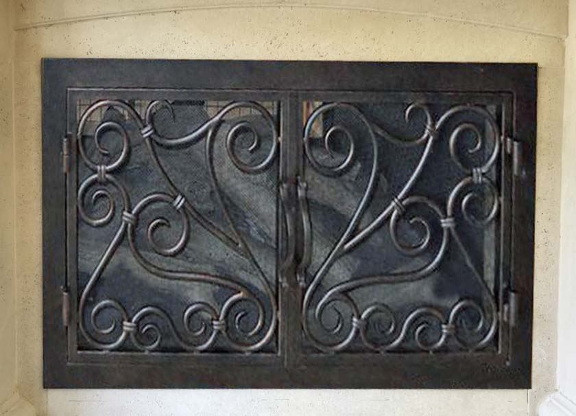 Fireplace Door FD013