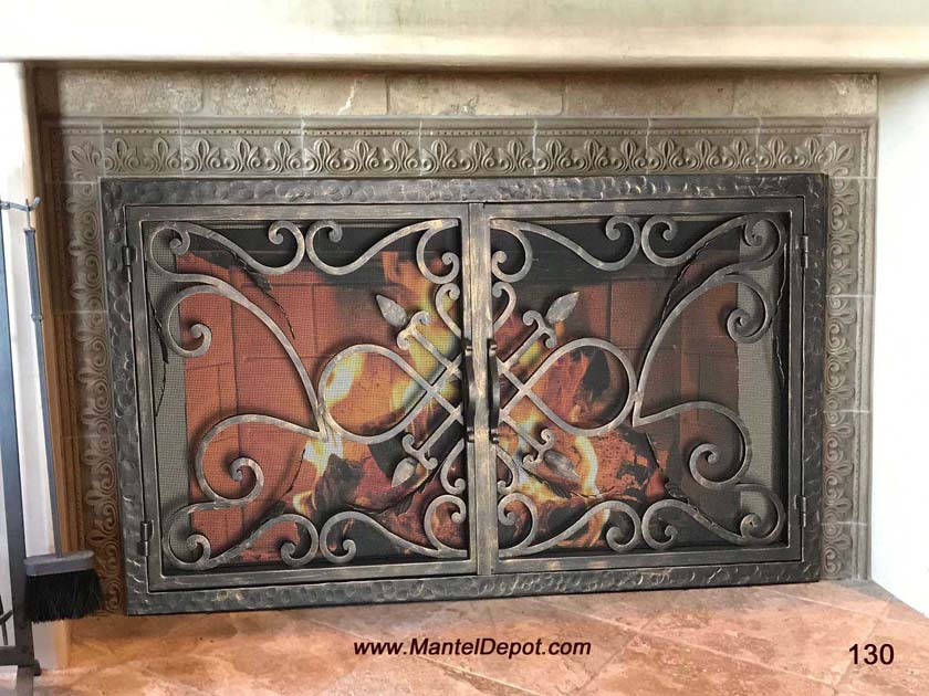 fireplace mantels fireplace surrounds iron fireplace doors