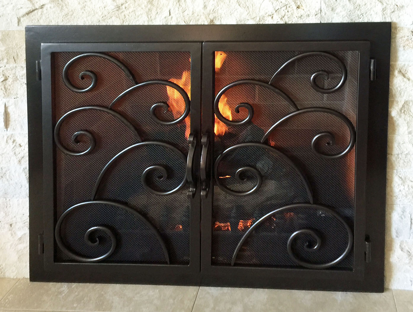 Fireplace Door FD022
