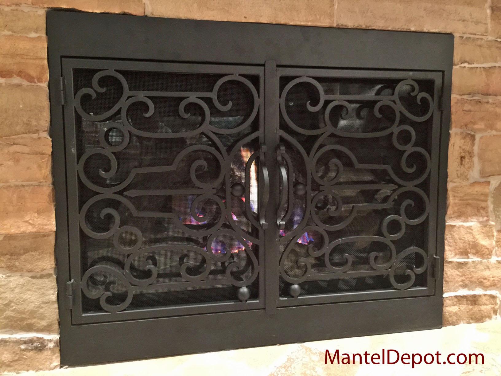 fireplace mantels fireplace surrounds iron fireplace doors catalog