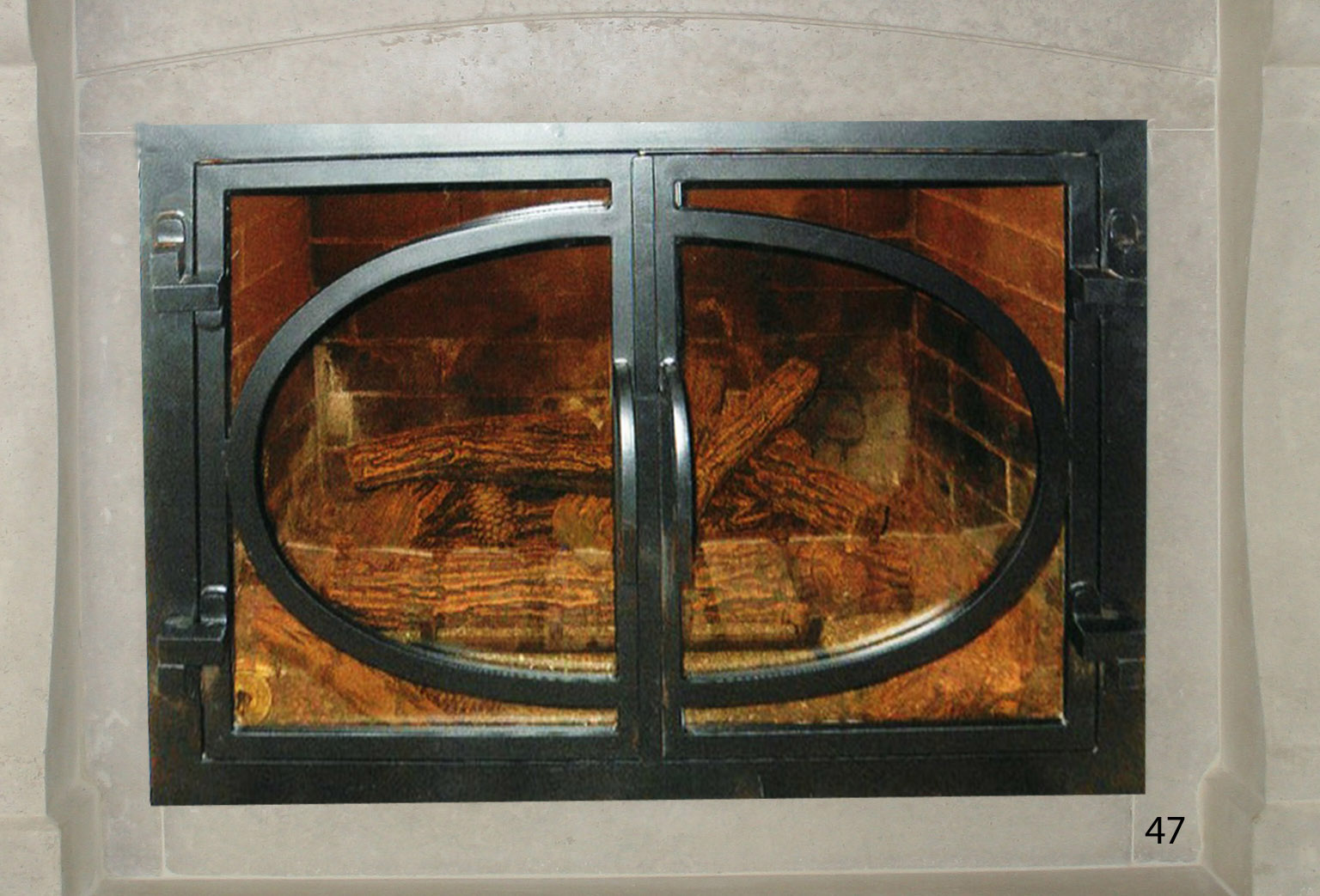 Fireplace Door FD047
