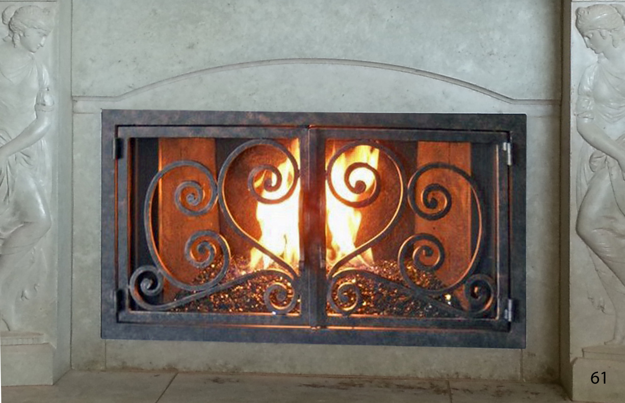 Fireplace Door FD061