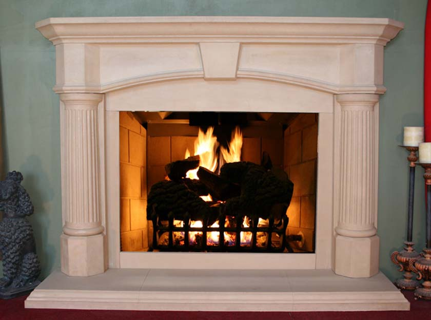 Fireplace Mantel 103