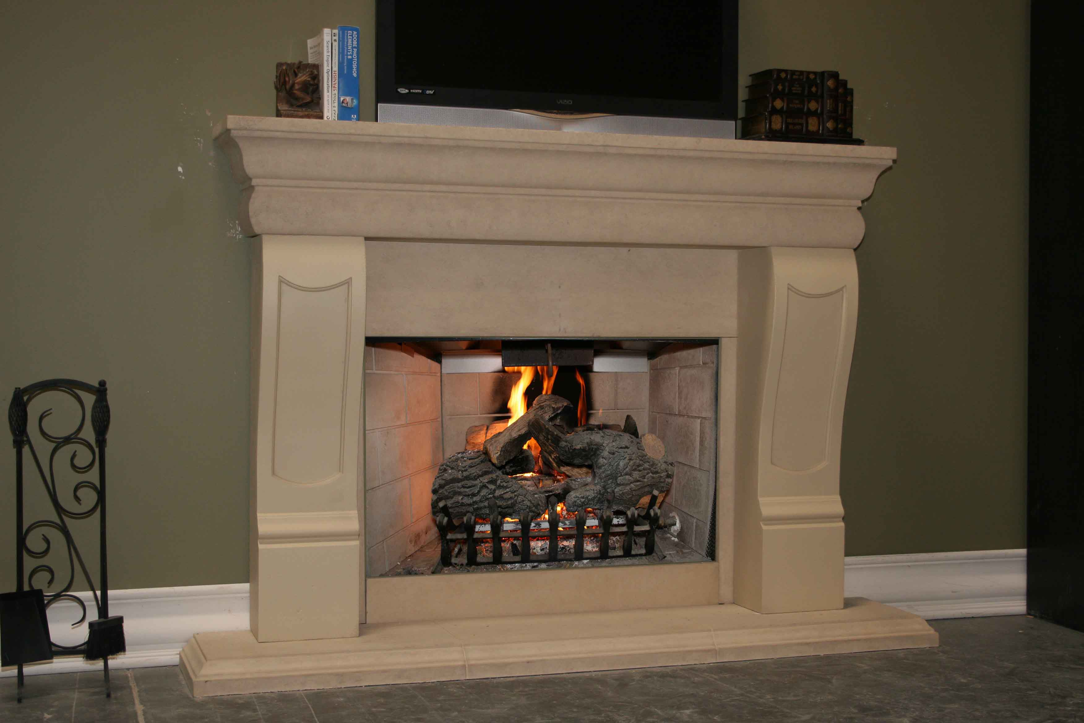 Mt109 Fireplace Mantels Fireplace Surrounds Iron Fireplace Doors And Screens In San Diego