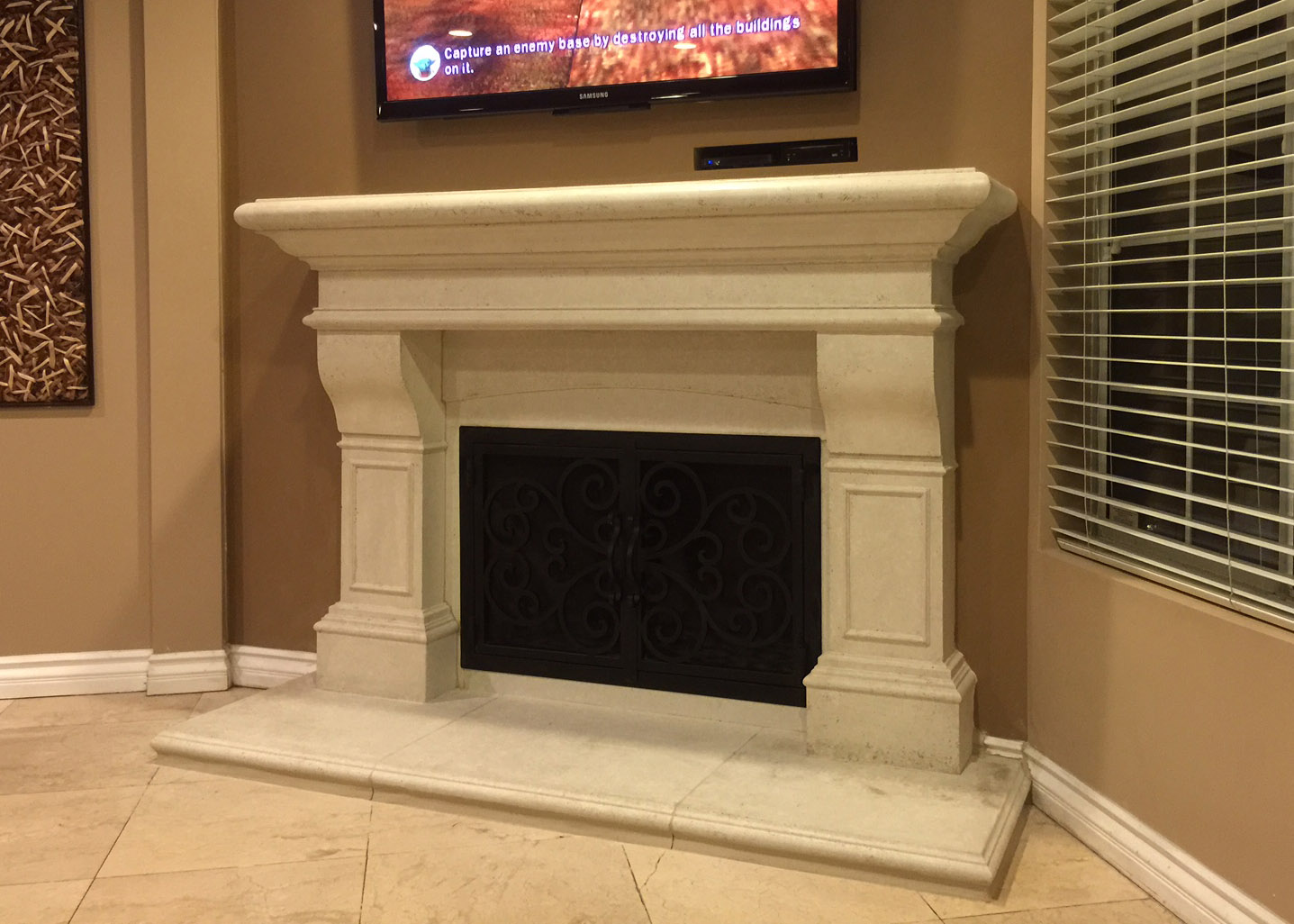 Fireplace Mantel 203