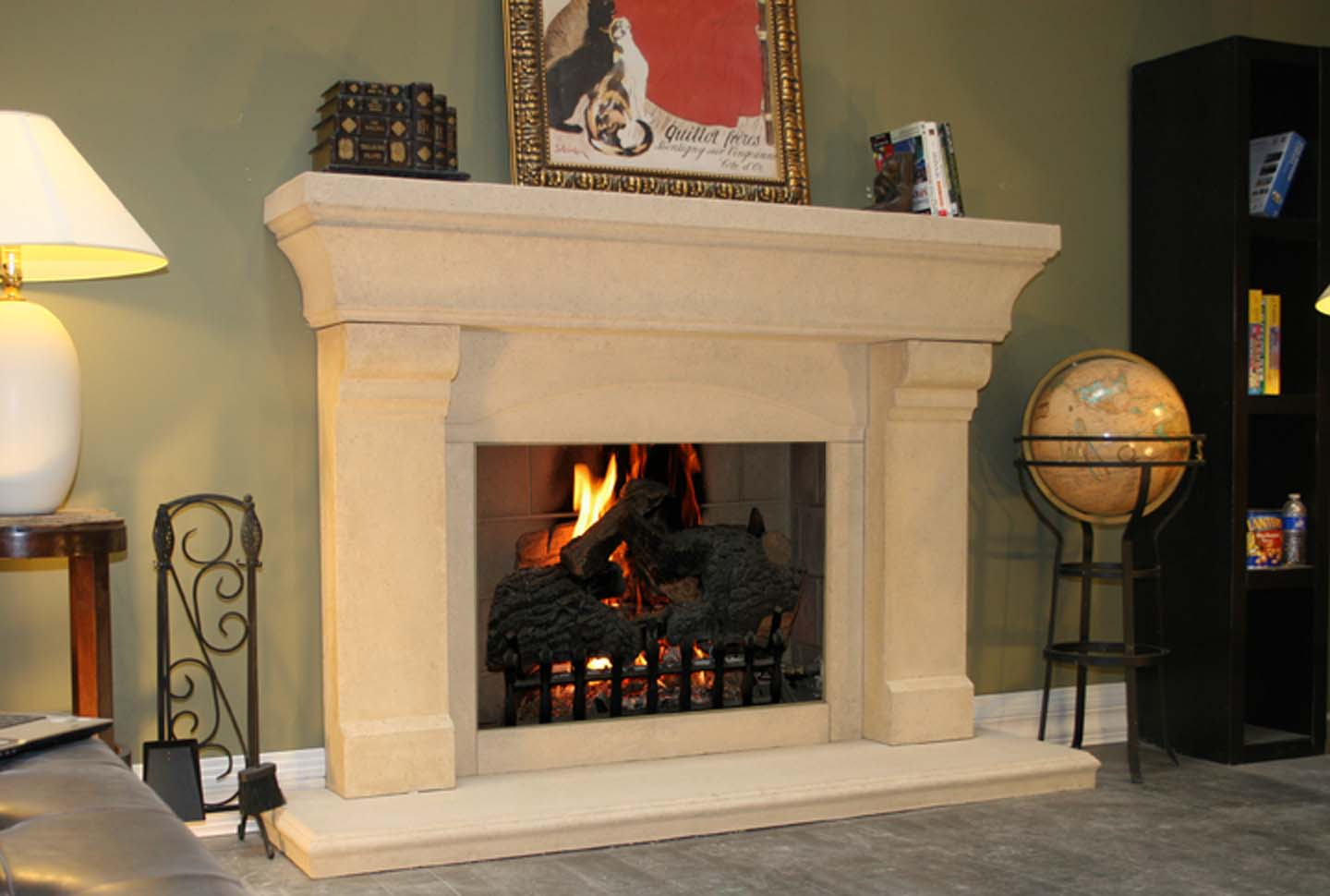 Fireplace Mantel 208