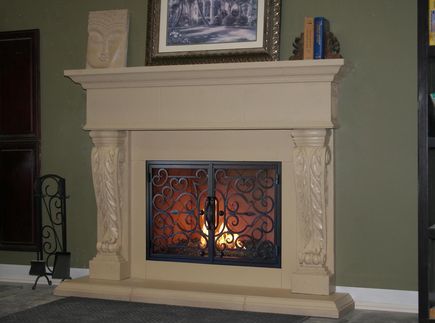 Fireplace Mantel 213