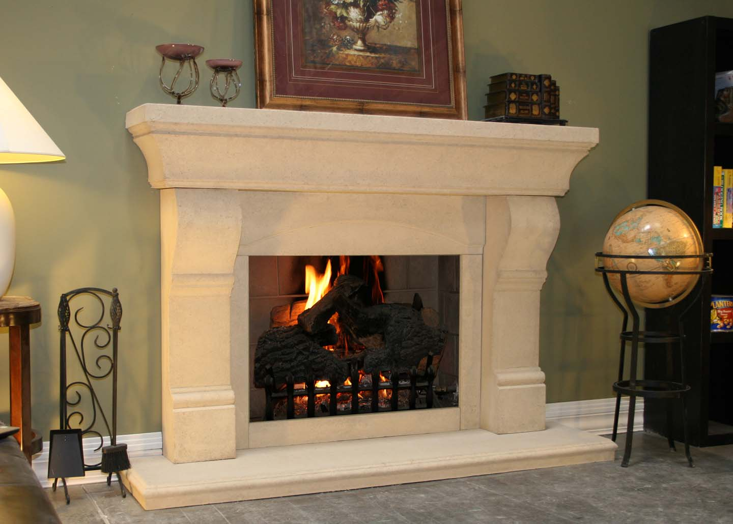 Mt214 Fireplace Mantels Fireplace Surrounds Iron Fireplace Doors And Screens In San Diego