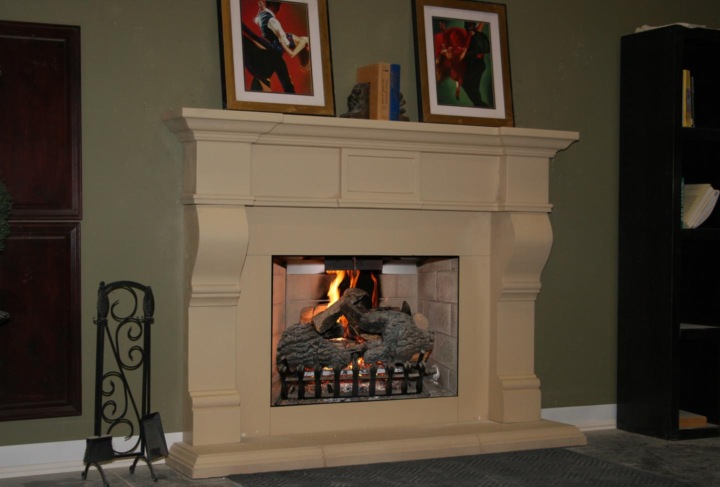 Mt221 Fireplace Mantels Fireplace Surrounds Iron Fireplace Doors And Screens In San Diego