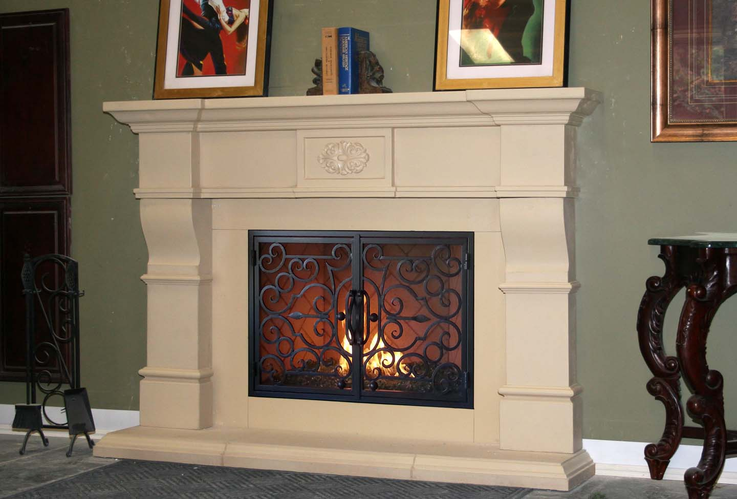 Mt228 Fireplace Mantels Fireplace Surrounds Iron