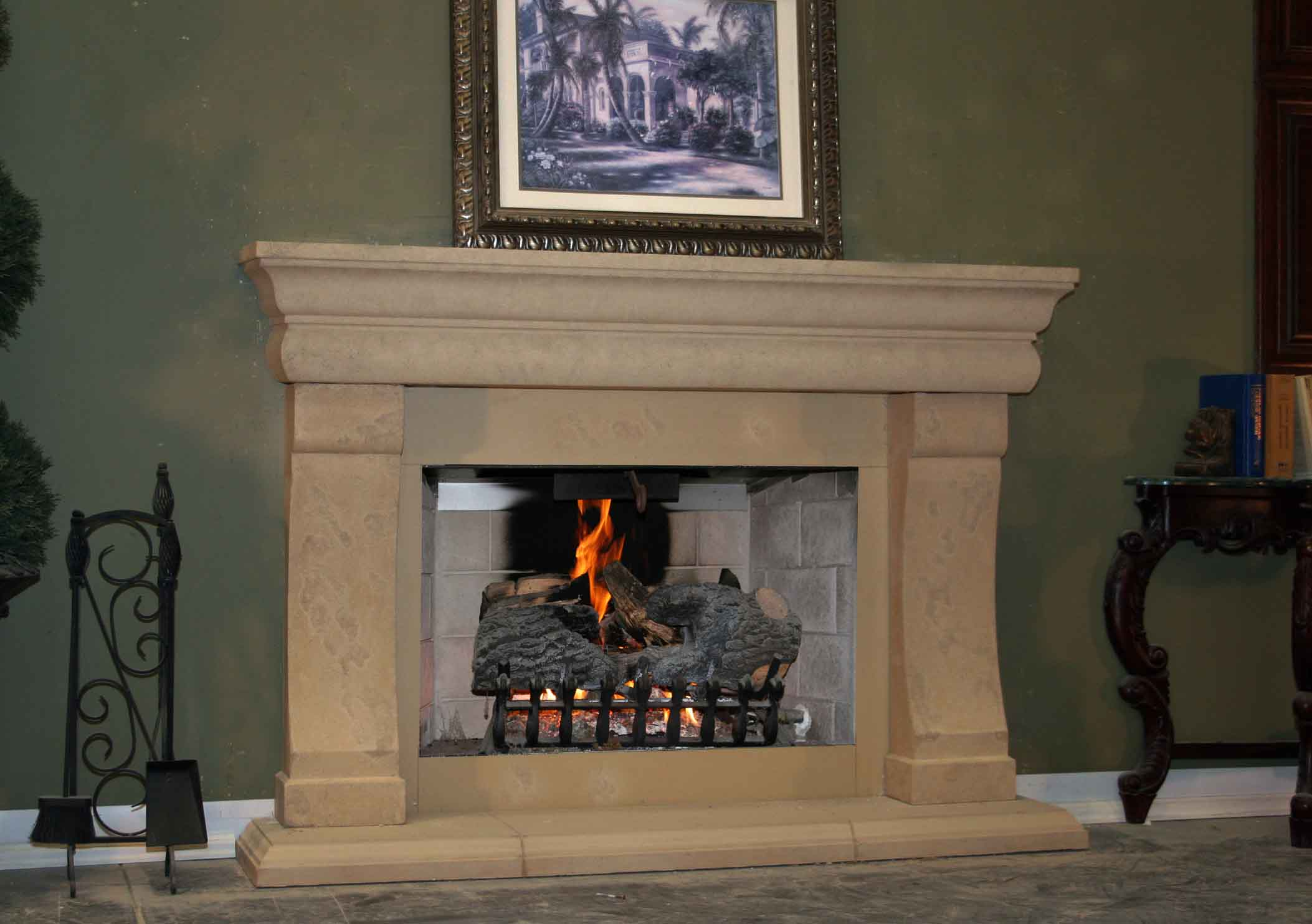 Mt235 Fireplace Mantels Fireplace Surrounds Iron Fireplace Doors And Screens In San Diego