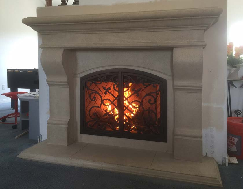 Fireplace Mantels Fireplace Surrounds Iron Fireplace Doors And Screens In San Diego