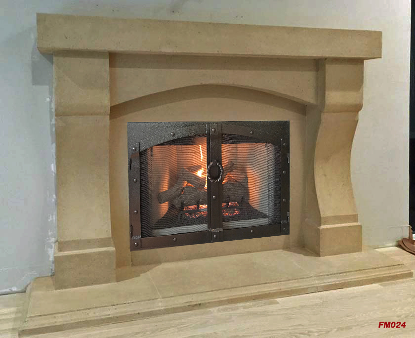 Fireplace mantel picture - MT305: Fireplace Mantels, Fireplace Surrounds, Iron Fireplace