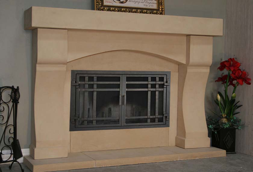 Mt305 Fireplace Mantels Fireplace Surrounds Iron Fireplace Doors And Screens In San Diego