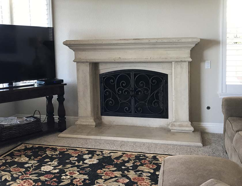 Fireplace Mantels Mt310 Fireplace Surrounds Iron Fireplace Doors And Screens In San Diego