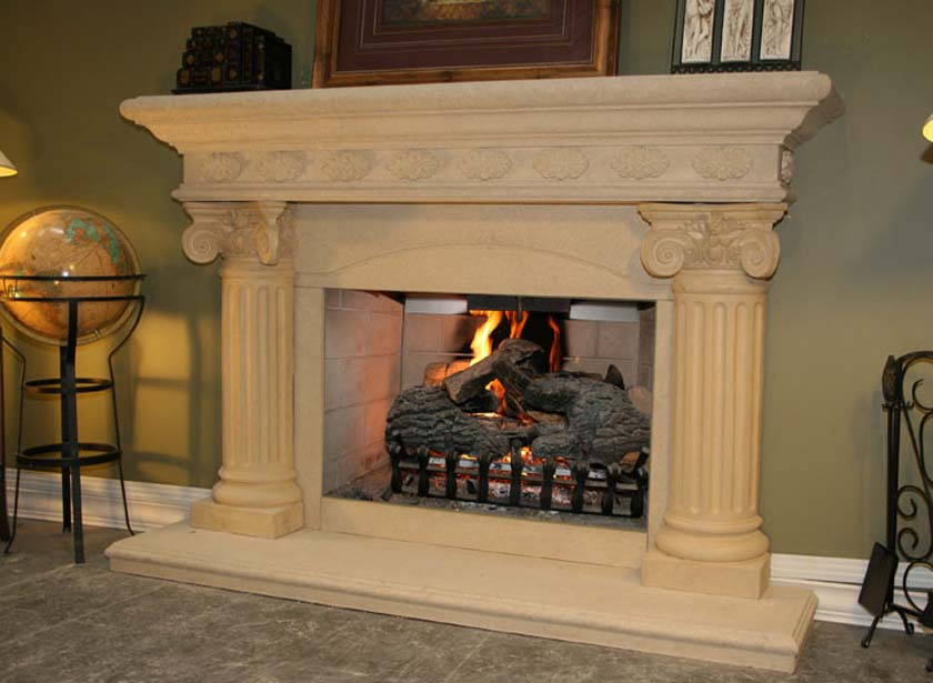 Fireplace Mantel 317