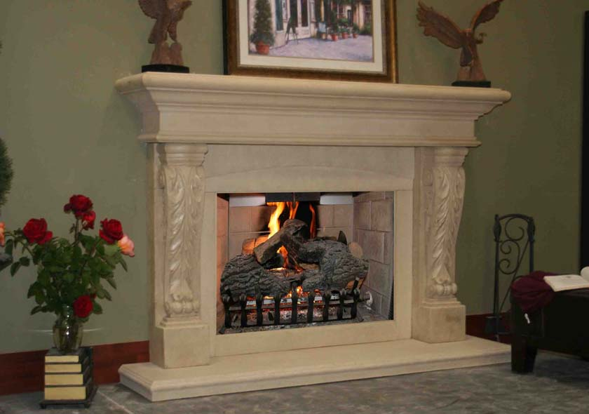 Fireplace Mantel 319