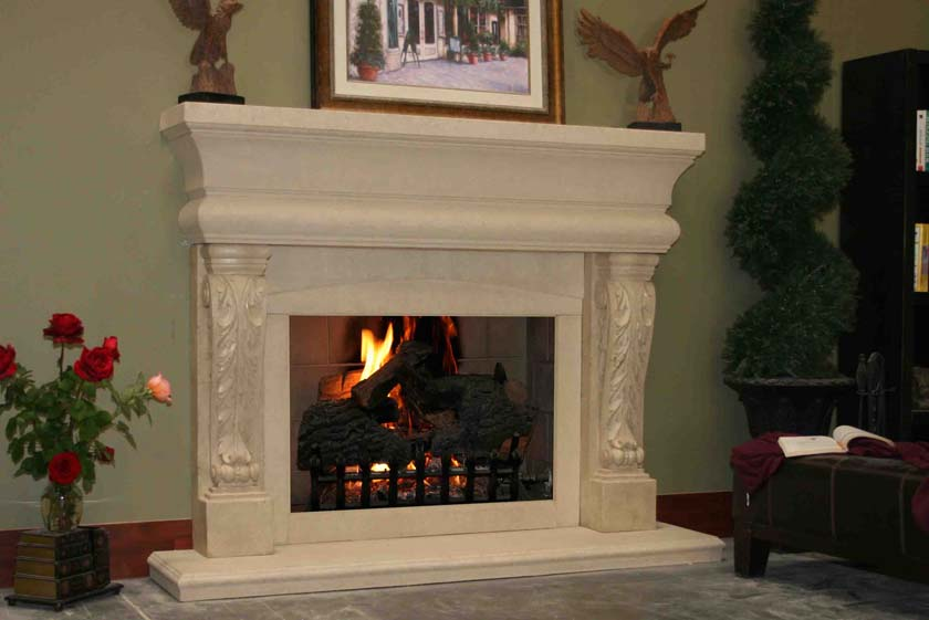 Fireplace Mantel 320