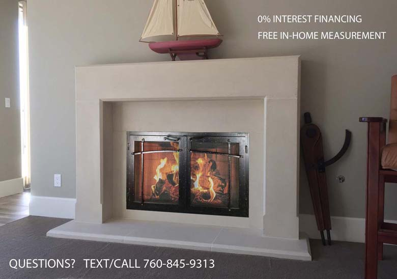 Precast Mantelsfireplace Surroundsiron Fireplace Doors And Screens