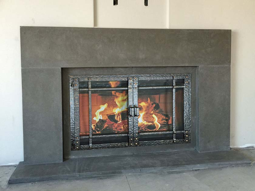 Mt335 Fireplace Mantels Fireplace Surrounds Iron Fireplace Doors And Screens In San Diego