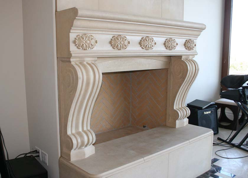 Fireplace Mantel 404