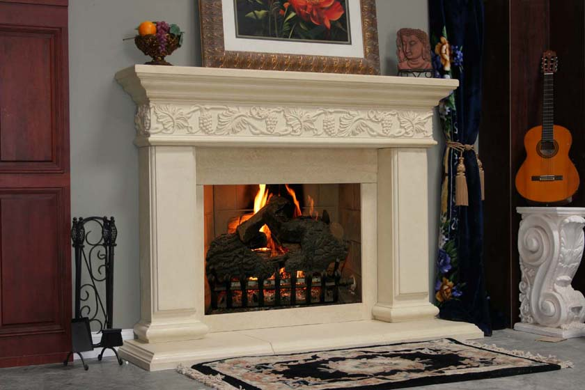 Mt509 Fireplace Mantels Fireplace Surrounds Iron Fireplace Doors And Screens In San Diego