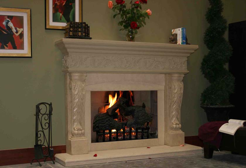 Fireplace Mantel 516