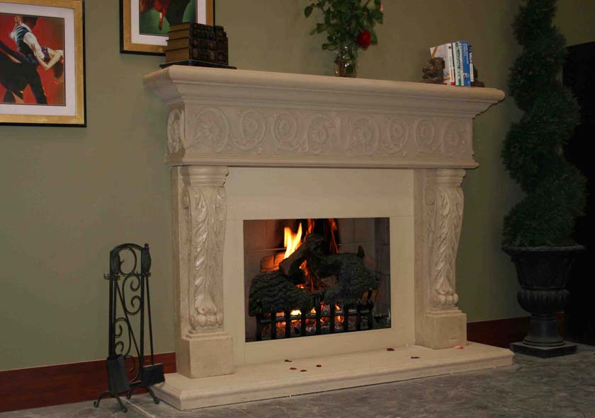 Fireplace Mantel 517