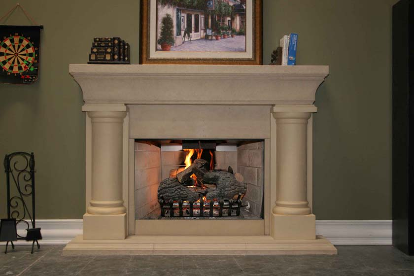 Picture of Fireplace Mantel 607