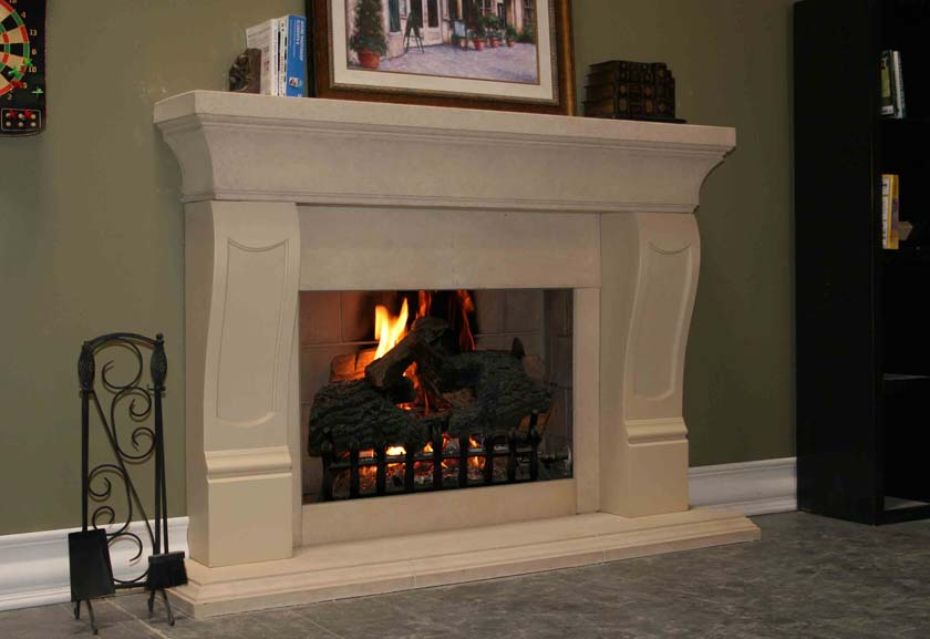 picture of precast Fireplace Mantel 609