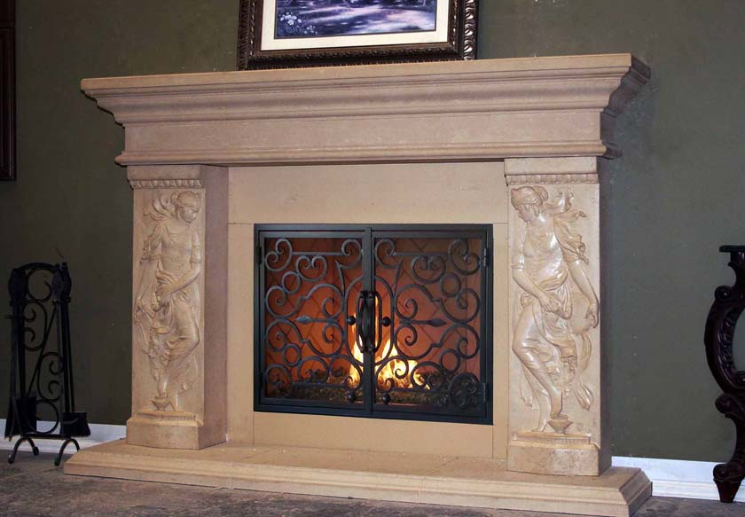 Fireplace Mantel 716