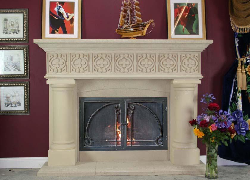Mt739 Fireplace Mantels Fireplace Surrounds Iron