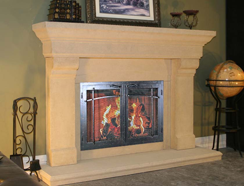 Fireplace Mantel 809