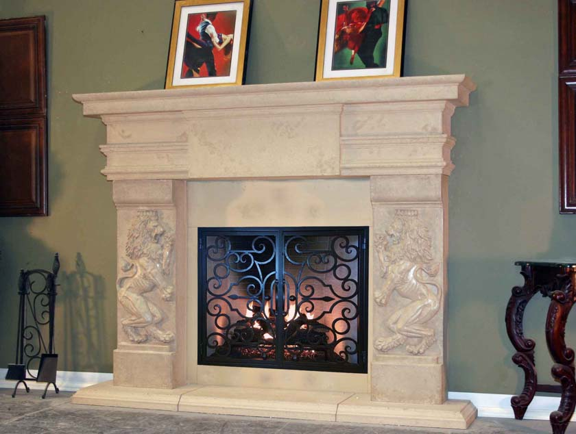 Mt820 Fireplace Mantels Fireplace Surrounds Iron Fireplace Doors And Screens In San Diego