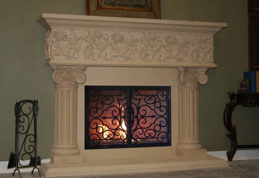 Fireplace Mantel 830