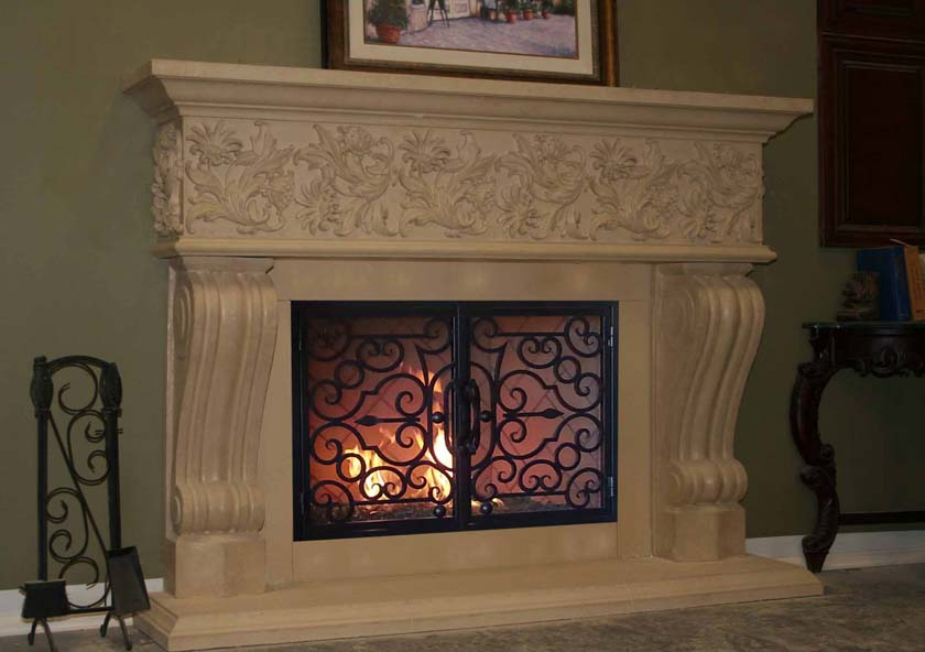 Fireplace Mantel 831