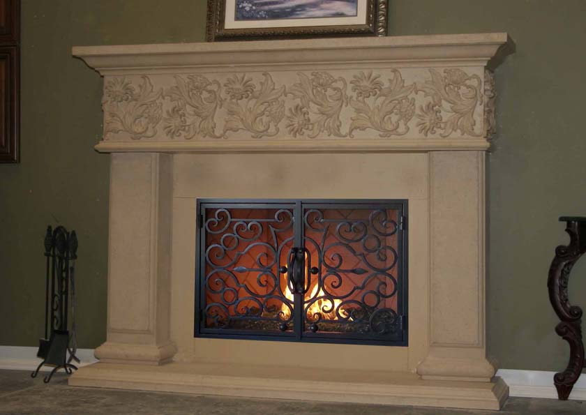 Fireplace Mantel 836