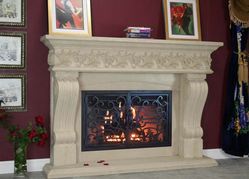 Mt843 Fireplace Mantels Fireplace Surrounds Iron Fireplace Doors And Screens In San Diego