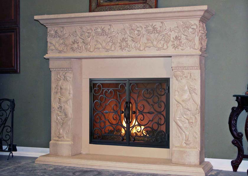 Fireplace Mantels Fireplace Surrounds Iron Fireplace Doors San Diego Ca Catalog Page 3