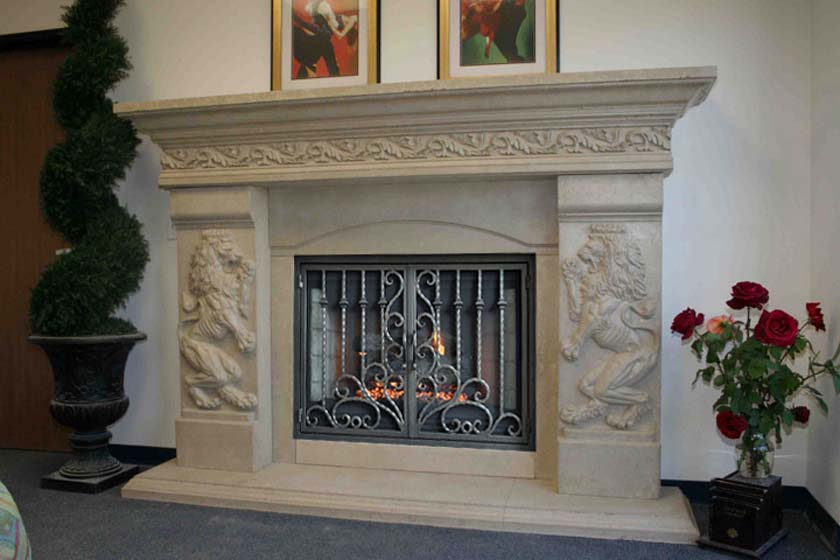 Mt907 Fireplace Mantels Fireplace Surrounds Iron Fireplace Doors And Screens In San Diego