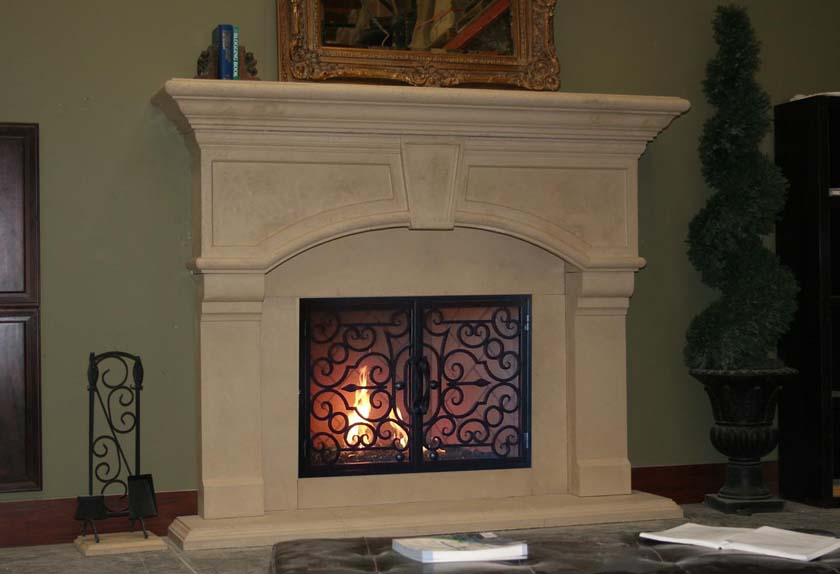 Fireplace Mantel 929