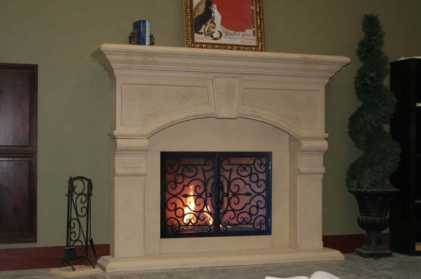 Fireplace Mantel 932